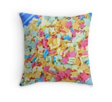 Sugar Stars Throw Pillow