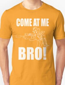 COME AT ME BRO - Line Version Unisex T-Shirt