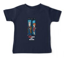 Mad Man In A Blue Box Baby Tee