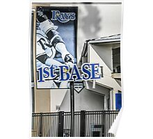 1st Base Tampa Bay Rays Poster