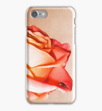 Lady rose iPhone Case/Skin
