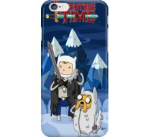 adventure time snowy iPhone Case/Skin