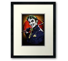 The Joker 'harleys joker'  Framed Print