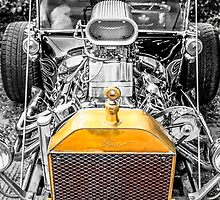Selective toned Ford Model T Hot Rod by Chris L Smith