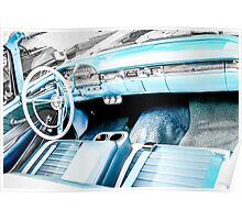 1958 Ford Fairlane 500 car Poster