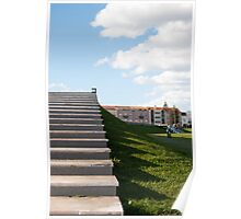 Stairs of Coimbra Poster