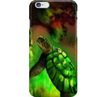 Turtle Coral iPhone Case/Skin