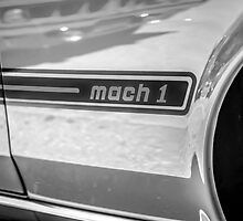 1969 Ford Mustang Mach 1 by Chris L Smith