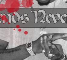 Legends Never Die (2pac) Sticker