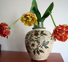 Vase of Tulips by Patricia127