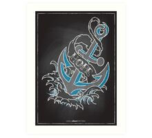Chalk Board Tattoos - Hope Art Print