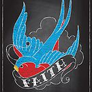 Chalk Board Tattoos - Faith by Rob Stephens