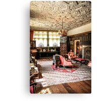 Stately Home Living Room Canvas Print