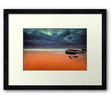Untouched - Turrimetta Beach Framed Print