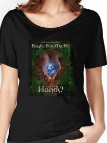 Hold the Earth in Your Hands Women's Relaxed Fit T-Shirt