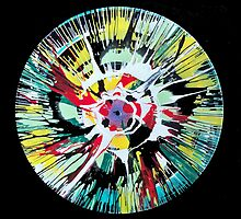 Spin Painting White Blossom by jafabrit