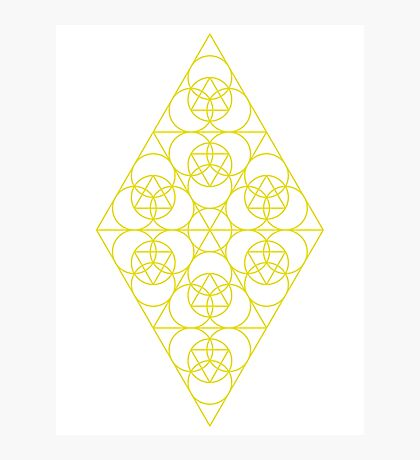 Diamond Matrix ~ 33 Year cycle Photographic Print