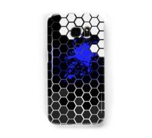 Six angular Blue Samsung Galaxy Case/Skin