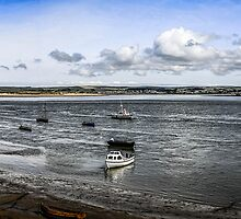River Torridge at Appledore by Chris L Smith