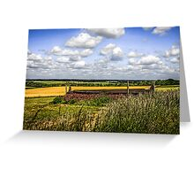 Rolling Landscape of Dorset Greeting Card