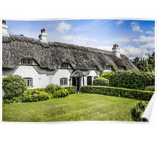 White Cottage of Hampshire Poster