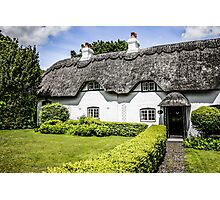 Thatched Cottage of Hants Photographic Print