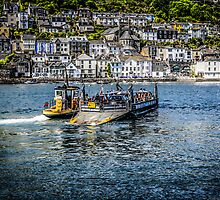 Kingswear Ferry in Devon by Chris L Smith