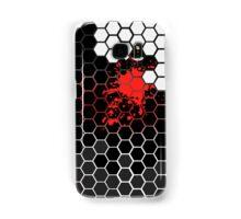 Six angular Red Samsung Galaxy Case/Skin