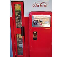 Retro Vending Machine Photographic Print