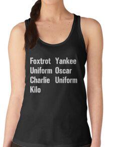 Military Salute Women's Tank Top