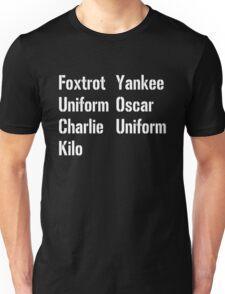 Military Salute Unisex T-Shirt