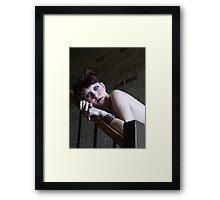 Stacy - Portrait Framed Print