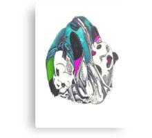 Pandas keep it playful Metal Print