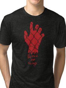 PROTECT THE LIVING Tri-blend T-Shirt