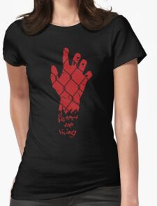 PROTECT THE LIVING Womens Fitted T-Shirt