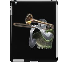 Jazz Trombonist iPad Case/Skin