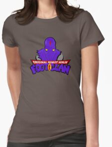 ROBOT NINJA Womens Fitted T-Shirt