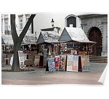 Street Shops Poster