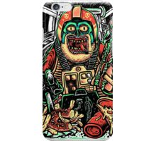 Zombie Star Farter Pilot iPhone Case/Skin