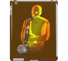 Blues Saxophone Man iPad Case/Skin