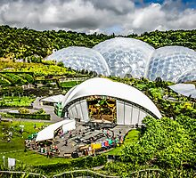The Eden Proect in Cornwall by Chris L Smith