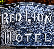 The Red Lion Hotel by Chris L Smith