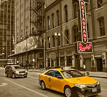 Chicago Taxi  by Rob Hawkins