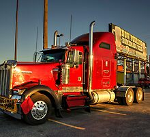 Red Kenworth  by Rob Hawkins