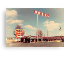 Munger Moss Motel  Canvas Print