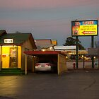 Lincoln Motel Reception  by Rob Hawkins