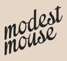Modest Mouse (Black) by tynamite