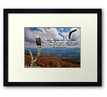 Isaiah 40:31 Framed Print