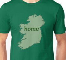 Ireland HOME with Irish Map Unisex T-Shirt