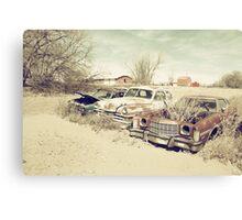 Rusting Classics Canvas Print